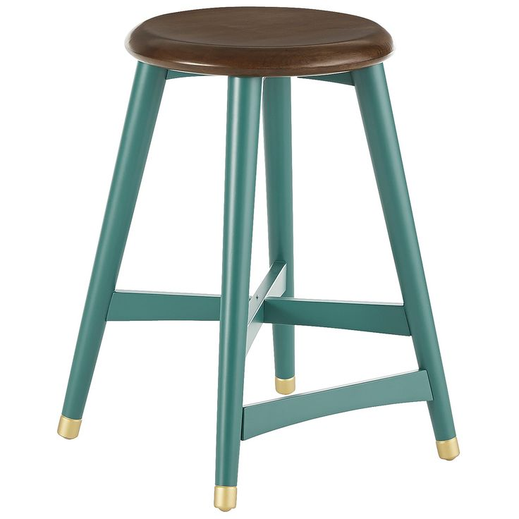 Cooper Counter Stool   Turquoise