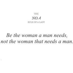 rule of a lady #4