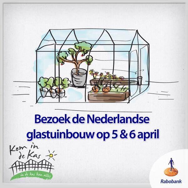 Neem eens een kijkje bij de glastuinbouw! Komend weekend is het weer #komindekas.   Vos Capelle is o.a. te vinden op zaterdag bij Paprika kwekerij Klop in Haaften en zondag in Bladel bij aardbeien kwekerij Lavrijsen.   Mertens kom je zaterdag tegen in IJsselmuiden en Luttelgeest. (@Kom_in_de_Kas)  Hier kun je terecht: http://www.komindekas.nl/waar/  Er wordt ook voor kinderen vanalles georganiseerd