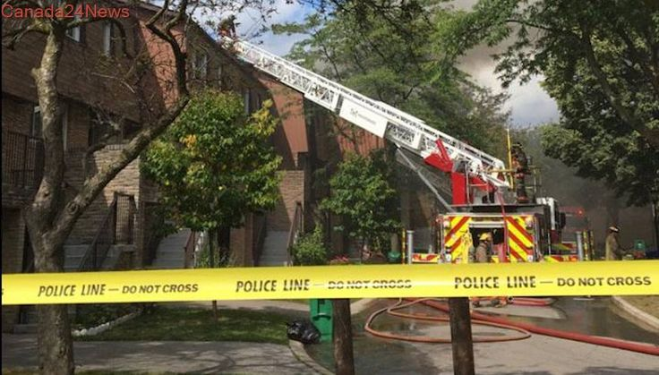 Man dies in Mississauga townhouse fire