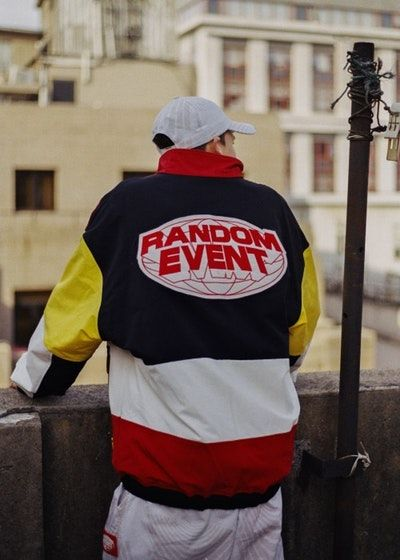 3fa0d3357b0 RANDOMEVENT Spring Summer 2018 ADHD Lookbook collection release date info  drop china track suit pant jacket branding logo