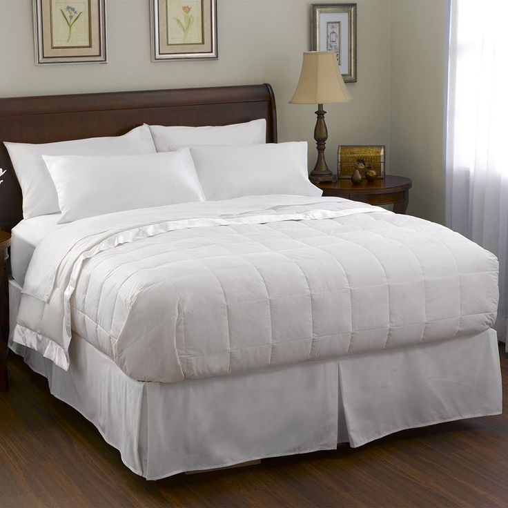 Pacific Coast Feather Radiance Down Blanket, White