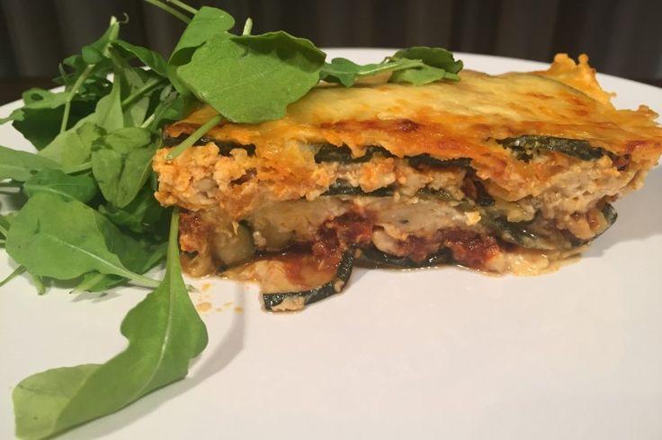 Cuketové lasagne úplně bez těstovin