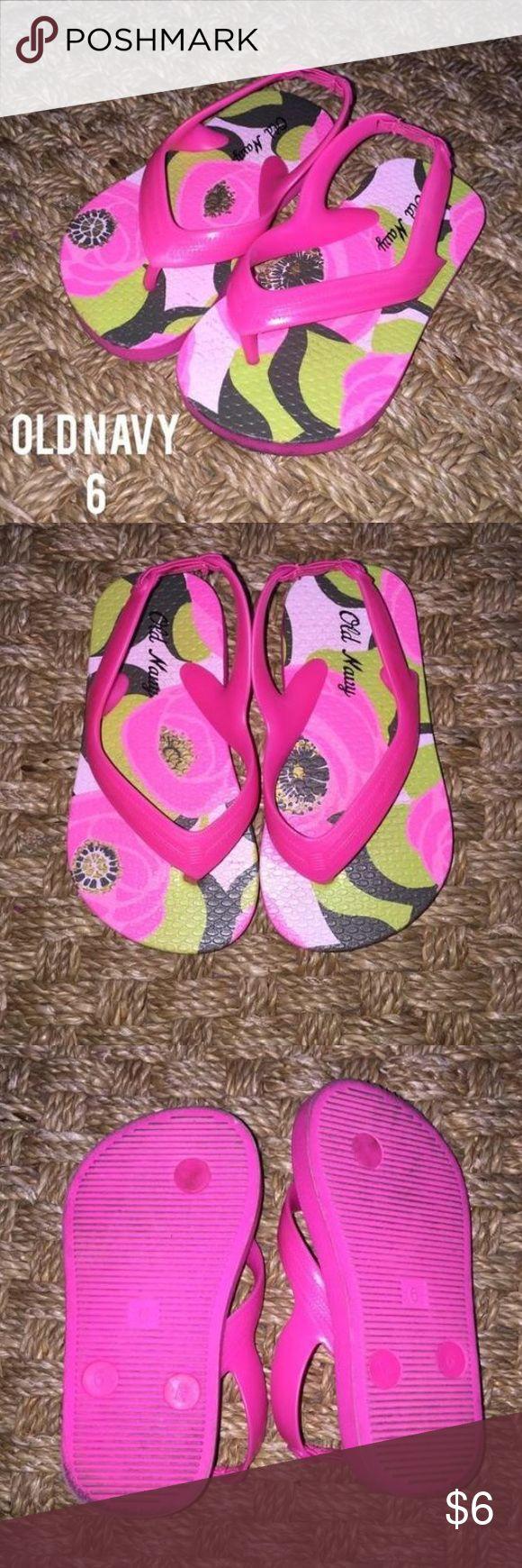 Old Navy Pink Brown Tropical Flower Flip Flops 6 Gently worn Old Navy Pink Brown Tropical Flower Flip Flops 6 Old Navy Shoes Sandals & Flip Flops