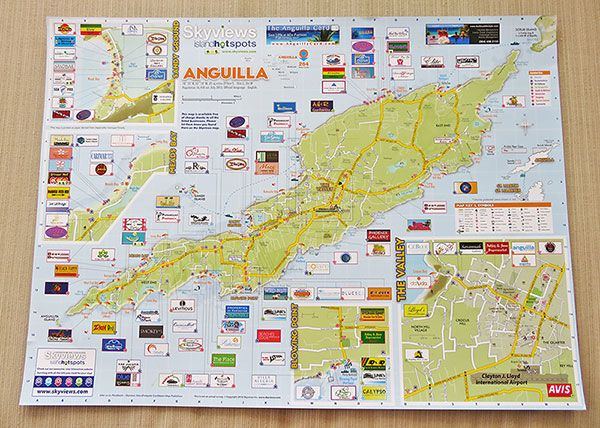 Travel map of Anguilla Maps Pinterest Travel maps