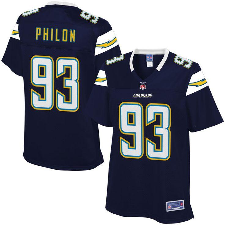 Women's Los Angeles Chargers Darius Philon NFL Pro Line Team Color Jersey