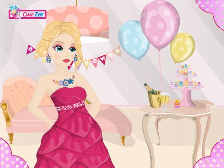 Bridal Shower Prep http://www.cutezee.com/makeover-games/bridal-shower ...