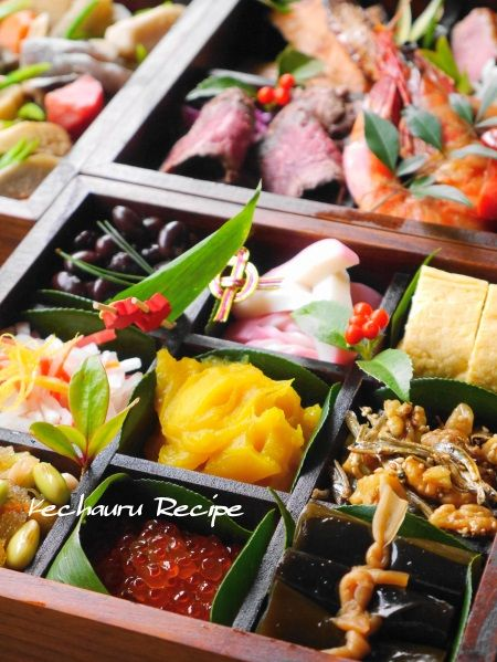 Japanese meal for New Year's, Osechi | おせち料理