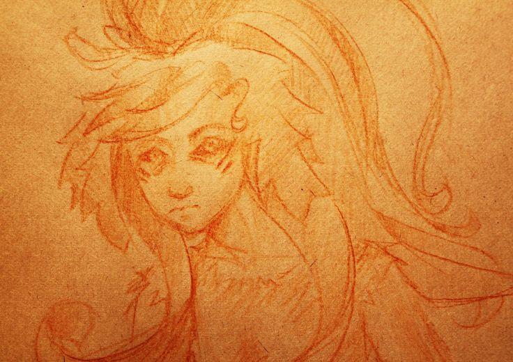 Anime girl. Injun. Author: Oreki Rea