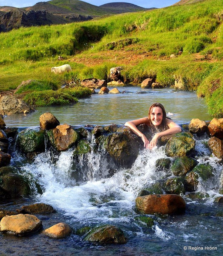 Reykjadalur Valley- Bathe in a Hot River in South Iceland!