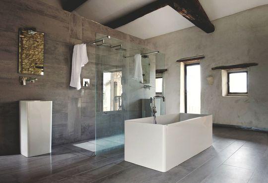 Faire une salle de bains zen tandem et zen for Plan salle de bain douche italienne