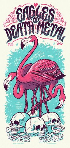 GigPosters.com - M185 - Phenomenal Handclap Band, The - Two Gallants - Eagles Of Death Metal
