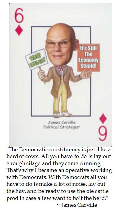 James Carville on Democrats and voting