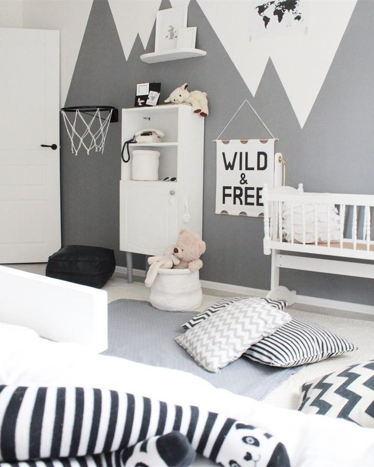 Grey babyroom  #whiteinterior#interiordesign#белыйинтерьер#diy#decor#hygge#kinfolk#simplelife#minimalmood#minimal#natural#mood#art#своимируками#декор#идея#idea#триждымама#декордетской#вдохновение#tlt#autumn#myhome#style#kidsroom#boho#декордетской#babyroom