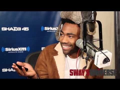 """Childish Gambino Spits Dope Freestyle Over Drake's """"Pound Cake"""" on Sway in the Morning - YouTube"""