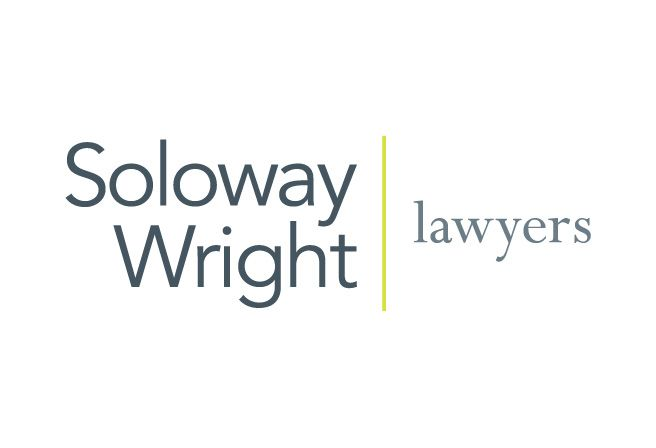 This logo design for Soloway Wright was developed to replace its outdated logo and was the first step in a full rebranding exercise for the prominent law firm.  http://www.cyansolutions.com/work/services/corporate-identity #ottawa #marketingottawa #marketing #design #logo #logodesign #web #print