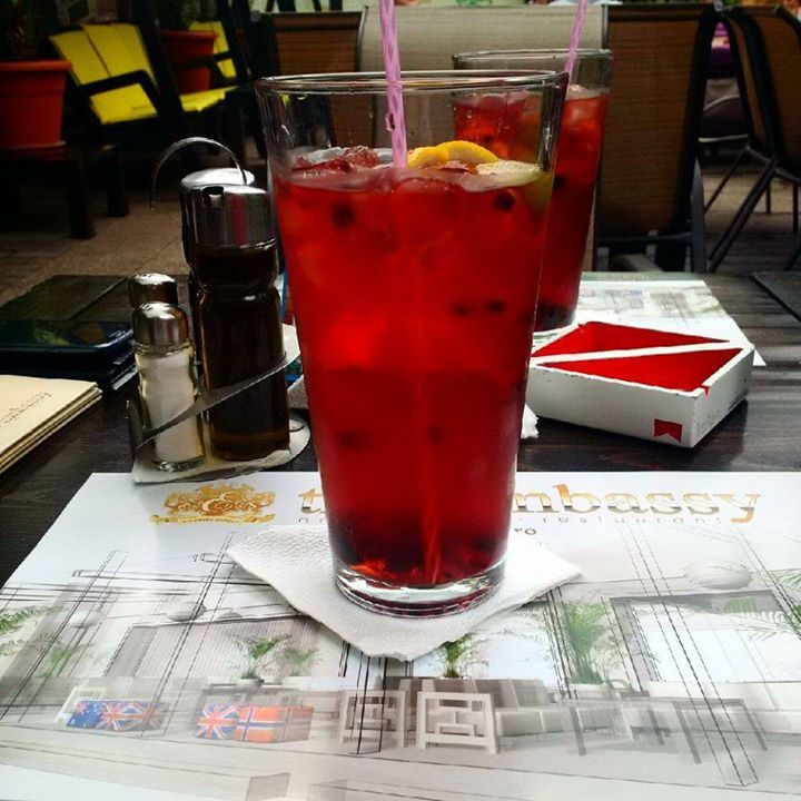 Time for the biggest ice tea in town :p