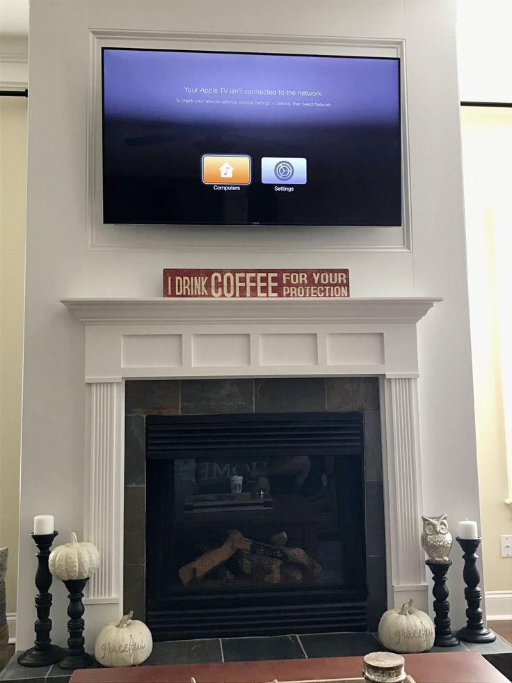 108 best images about fireplace tv mount on pinterest. Black Bedroom Furniture Sets. Home Design Ideas