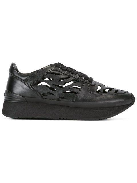 Comprar Kenzo zapatillas con aberturas de rayas de tigre.