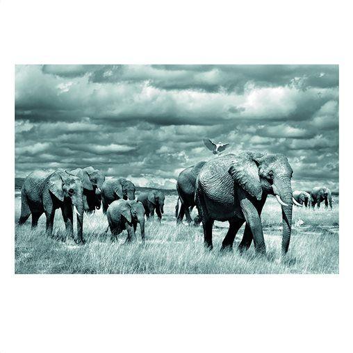 Αφίσα-πόστερ με ζώα, αφρικάνικο στυλ Π80xΥ60cm