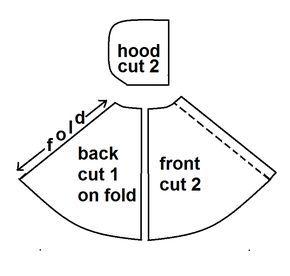 indietutes: basic hooded cloak