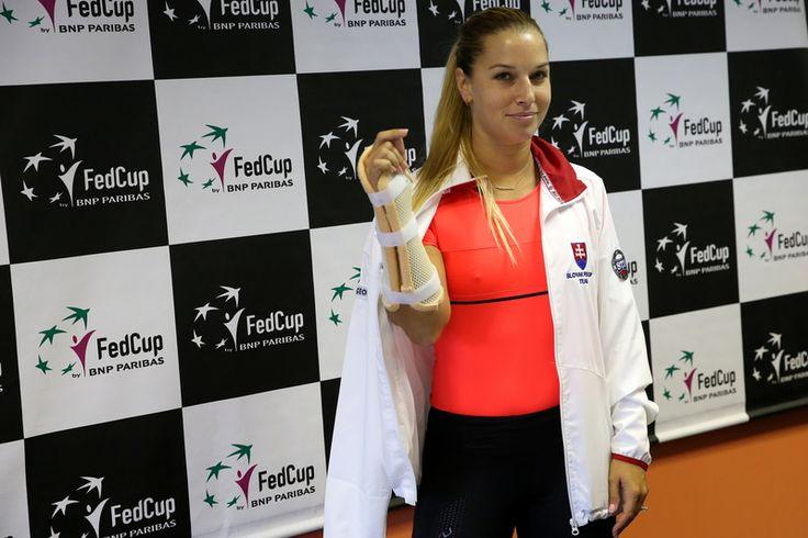 Dominika Cibulková na tlačovke oznámila smutnú správu.