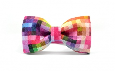 #pixel #print #bow tie #summer 2013 #cotton #all over print #bowties
