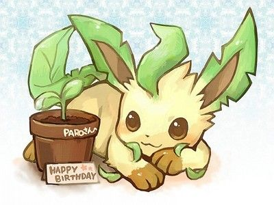 Leafeon is cute