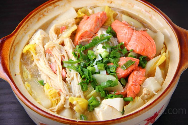 Ishikari is a Japanese version of a salmon soup served in a hot pot. The soup is miso based, and has various types of vegetables in it. The dish originated in Hokkaido, northern Japan, where winter...