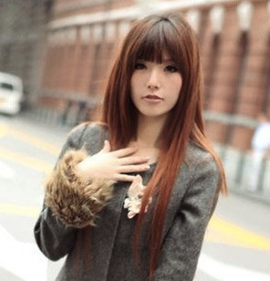 pictures of korean female hair styles