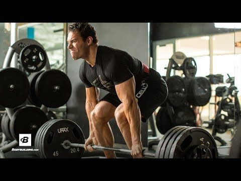 45,000-Pound Pull Challenge: Deadlifts & Pull-ups | IFBB Pro Craig Capurso