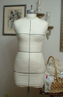 Its Sew Chic: Copy your Figure: A Dressform Tutorial part 1