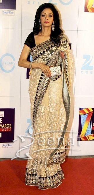 Sri Devi In Bollywood Sarees