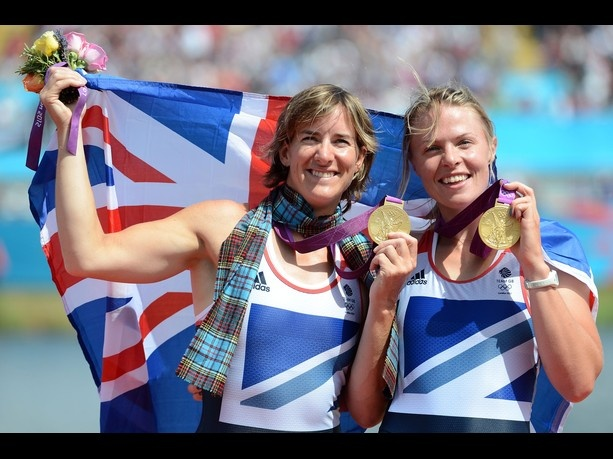 Katherine Grainger and Anna Watkins in Double Sculls 2012