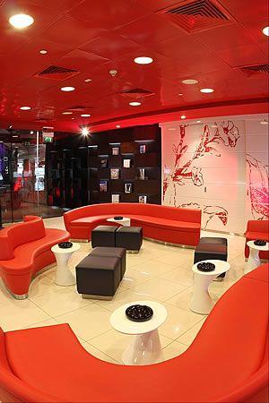 Burgundy Lounge, Abu Dhabi International Airport, UAE