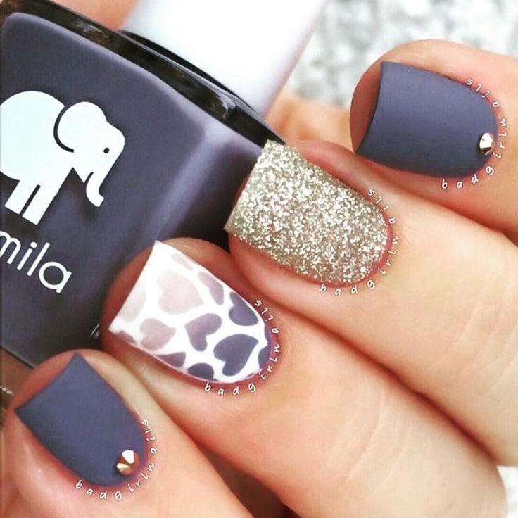 #nailart #mattenails #prettynails