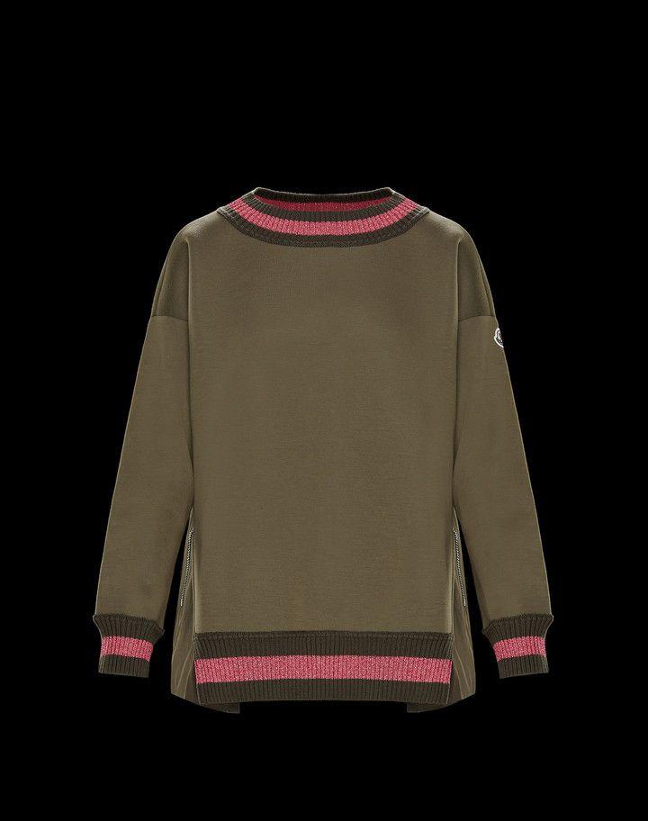 a4c4c385 Moncler T-shirts & Tops Woman: SWEATSHIRT | clothes | Sweatshirts, T ...