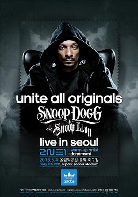 2NE1 confirmed as special guests for Snoop Dogg's first Korean concert