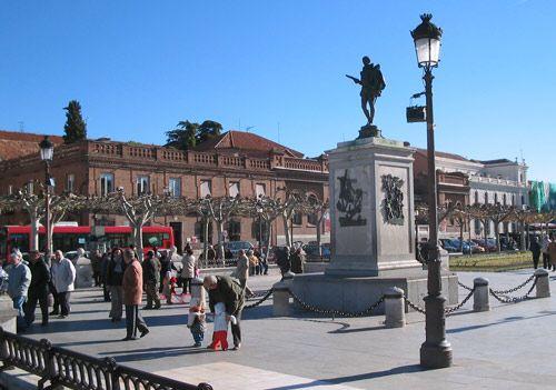 Aqui fue donde nació (Alcalá de Henares)