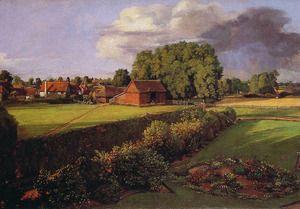 Golding Constable's Flower Garden  John Constable