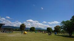 吉野ヶ里公園歴史公園に遊びに行きました なんとGW期間はアスレチック遊具のある西エリア入園料無料 広い芝生エリアでは思い思いに遊び回る子供たちやご家族連れで賑わっていましたよ それから野外炊事場ではバーベキューをしている方がたくさんいらっしゃいました 朝イチに出掛けなんとか場所確保も出来ましたが昼間になると駐車場からあふれる程の来場者 園内ではマルシェや食イベントも行われていますのであわせてお楽しみください() 入園料無料日は5月7日までですのでお忘れなく tags[佐賀県]