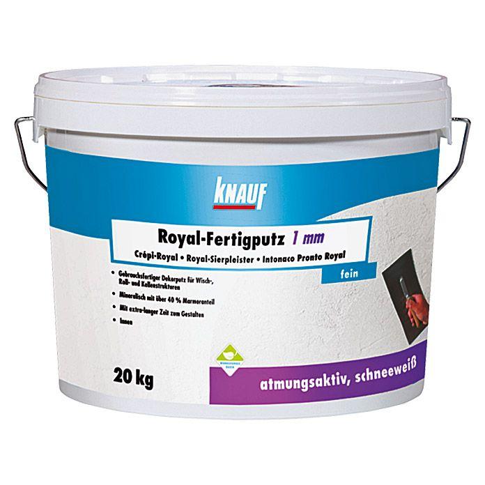 ROYAL-FERTIG-ROLL- PUTZ 1 mm 20 kg KNAUF