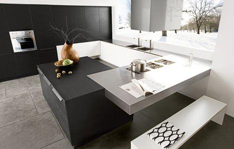 Black Walnut Kitchen by Futura Cucine photo Alessandra Martina