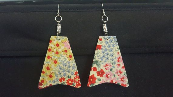 Check out this item in my Etsy shop https://www.etsy.com/au/listing/489178164/fabric-earring
