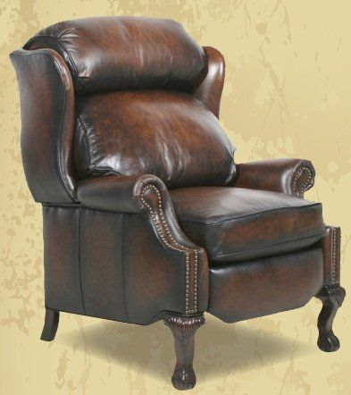 Here's a stately, timeless and enduring design. The #Barcalounger Danbury II features classic ball and claw legs, adjustable upper and lower back pillows, and sc...
