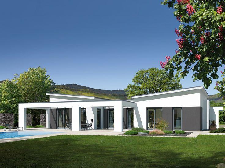 Musterhaus bungalow modern  Bungalow B 195.10 • Effizienzhaus von Fingerhut Haus • Dieses ...