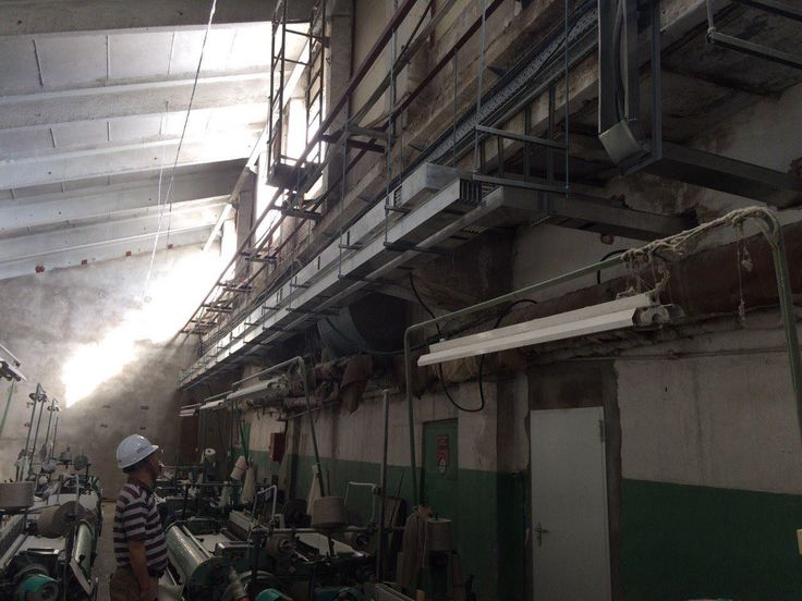 GDA busbar from 250 to 1600 A in the big revamping of linen factory in Belarus.