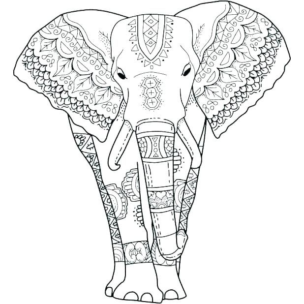 Abstract Elephant Coloring Pages Elephant Coloring Page Elephant Colouring Pictures Animal Coloring Pages