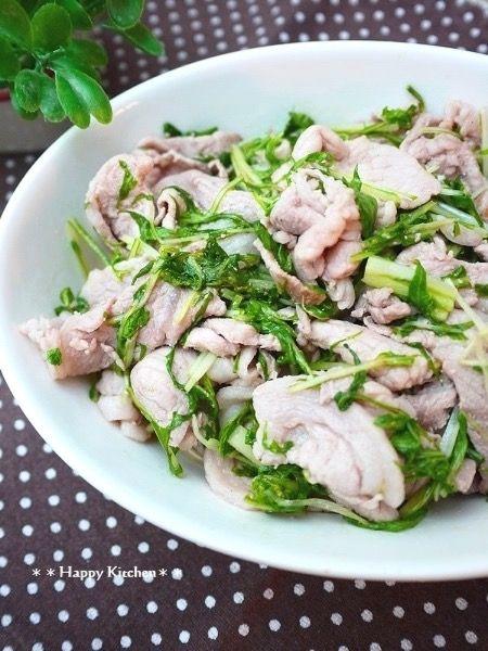 ご飯に合う!簡単*豚肉と水菜のガリバタポン酢炒め by たっきーママ | レシピサイト「Nadia | ナディア」プロの料理を無料で検索