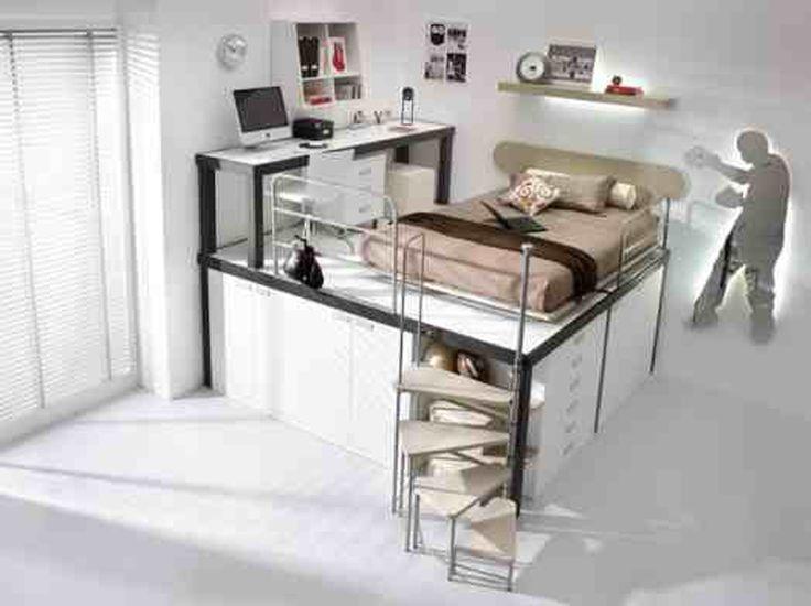 Moderne Teenager Raumdekoration